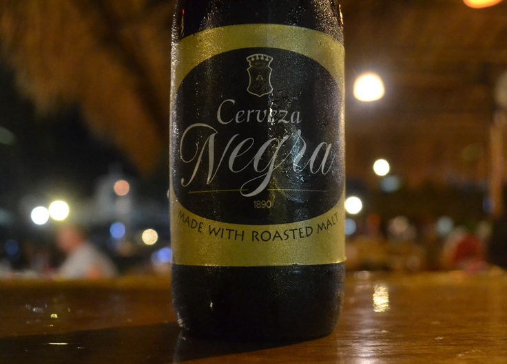 Negra Beer. Best Beer in Asia - Beer Heaven in Philippines - Cerveza Negra San Miguel - The perfect match for Filipino food. For full blog on Beers in the Philippines check here: http://live-less-ordinary.com/asia-travel/best-beer-in-asia-philippines-san-miguel