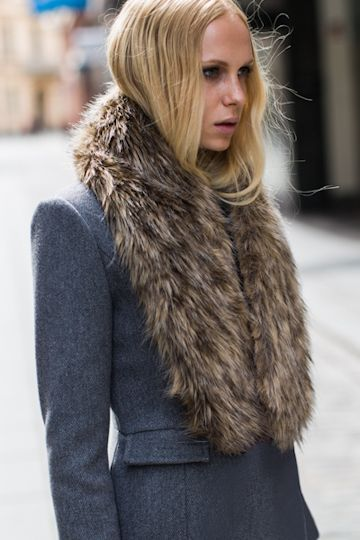 my must have fashion accessory for this coming winter : faux fur