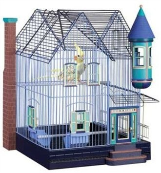 Amazon.com: Featherstone Heights Victorian Bird Cage 294: Pet Supplies