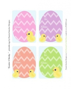 109 best spring easter printables images on pinterest for Easter name tags template