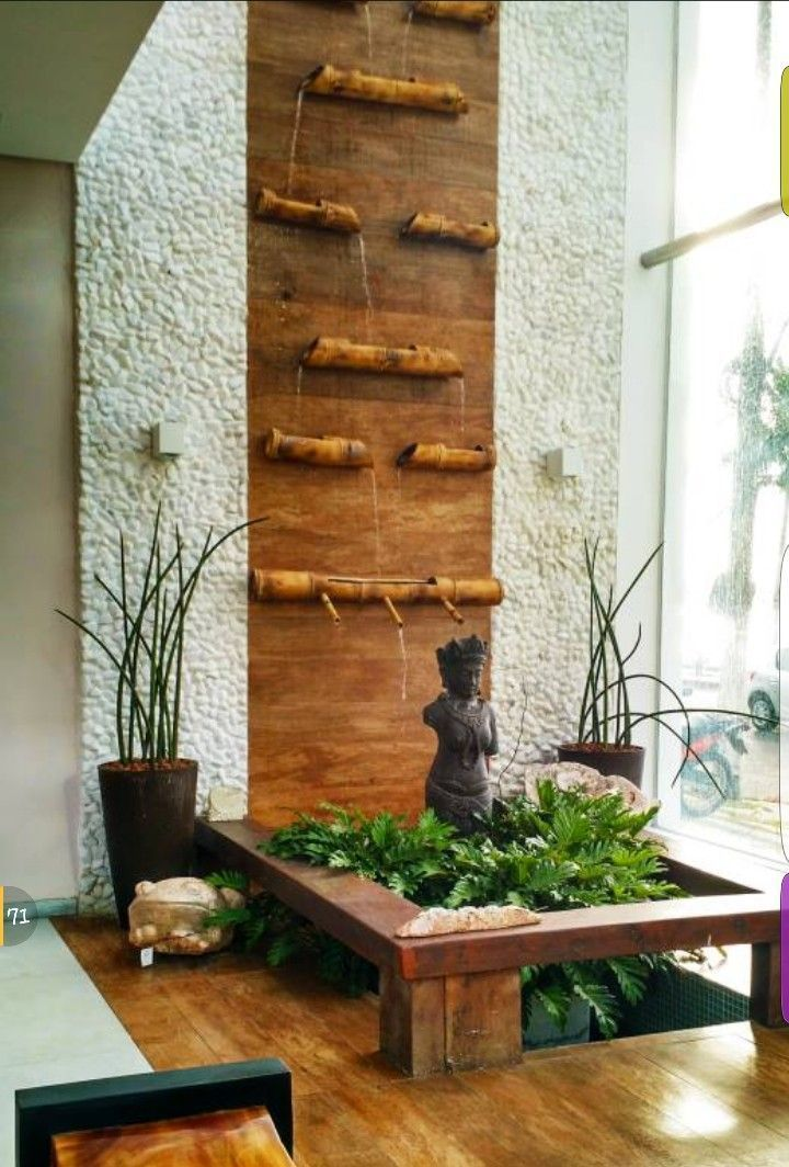 20 Extraordinary Indoor Wall Waterfall Designs Ideas In 2020