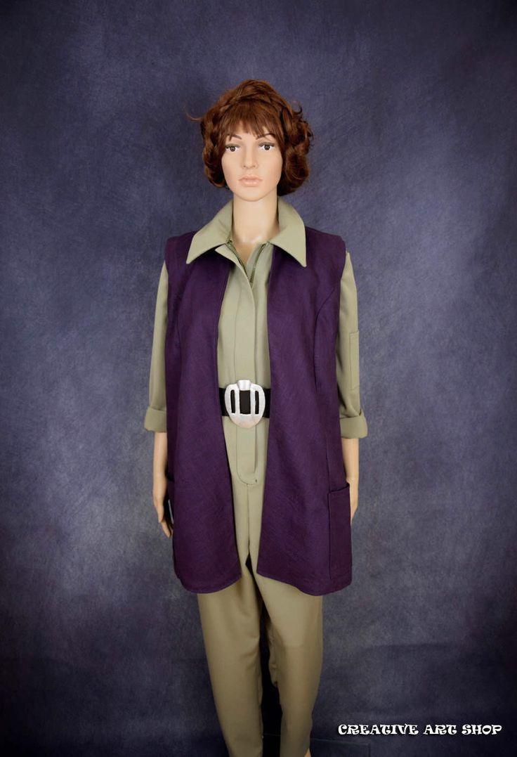 General Leia TFA Vest -  Rebel Legion by creativeartshop on Etsy https://www.etsy.com/listing/476154700/general-leia-tfa-vest-rebel-legion