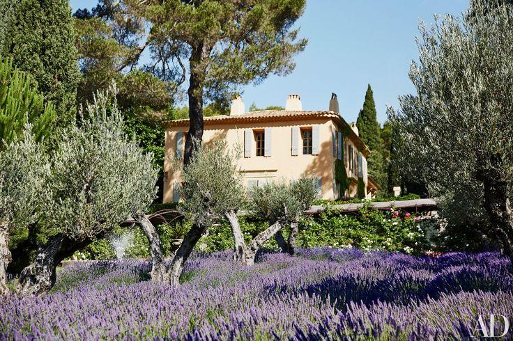 Domaine Chantecler: Aix-en-Provence. Casa rural de estilo esencialmente merditerráneo en la Provenza. El estilo provenzal.