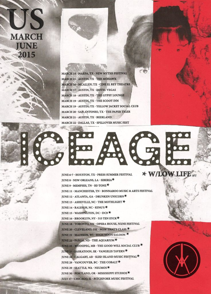 NEWS: The Danish punk rock band, Iceage, have announced an extensive tour for North America, the UK and Europe, in support of their album, Plowing Into The Field of Love. Dates include stops at SXSW, Bonnaroo, NXNE, Sled Island and Pitchfork Music Festival. Supporting them on the tour, in June, will be Low Life. You can check out the dates and details at http://digtb.us/1EGDp04