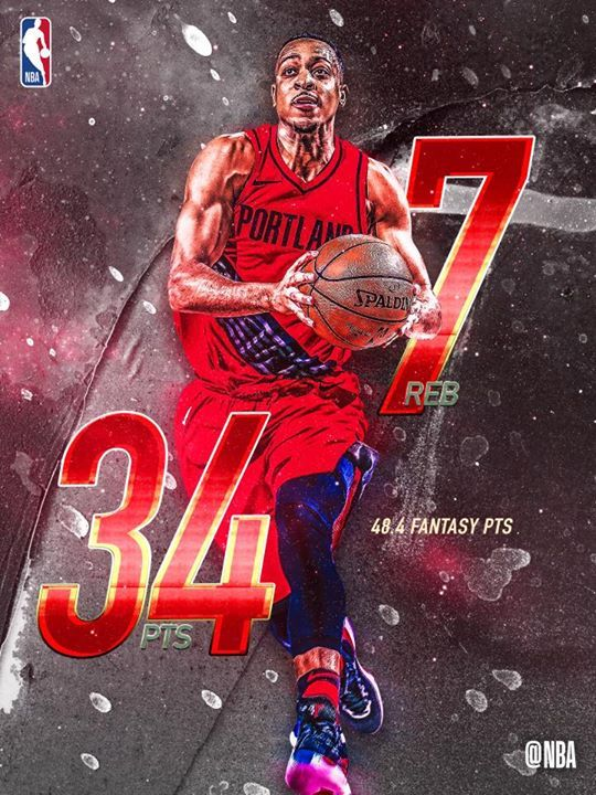 C.J. McCollum stepped up big in the Portland Trail Blazers comeback victory!. The leaders and winners from Wednesday's 10-game slate!. Rajon Rondo..
