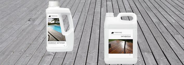 L'article entretien terrasse bois revient sur l'ensemble des produits à utiliser pour préserver vos lames de terrasse bois
