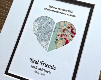 Wo It All Began Geschenk für beste Freunde lange von HandmadeHQ