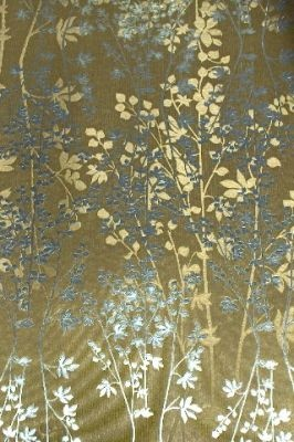 Branch Gold And Silver Foil Wallpaper Accent Wall