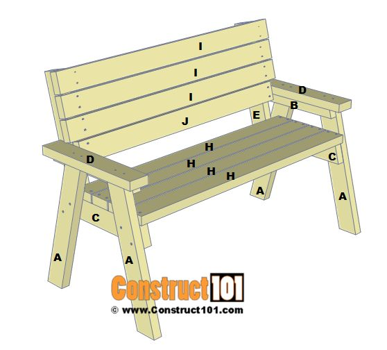 Best 25 2x4 bench ideas on pinterest diy wood bench for 2x4 furniture plans free