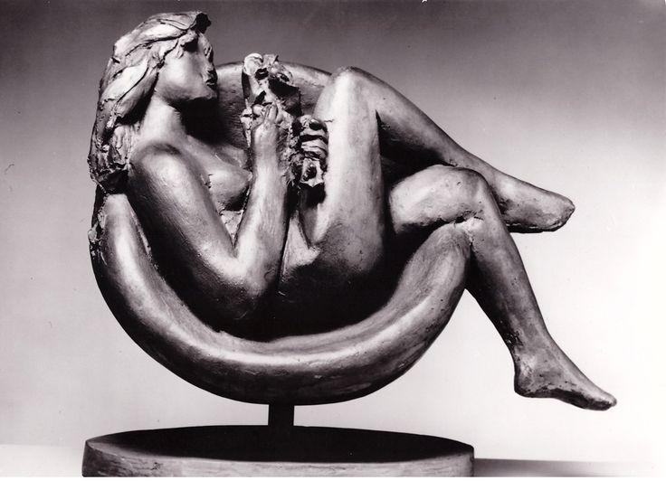Tebe in an Armchair, 1980