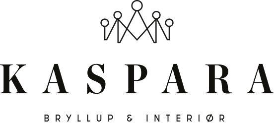 Kaspara bryllup og interiør logo www.kasparabi.no