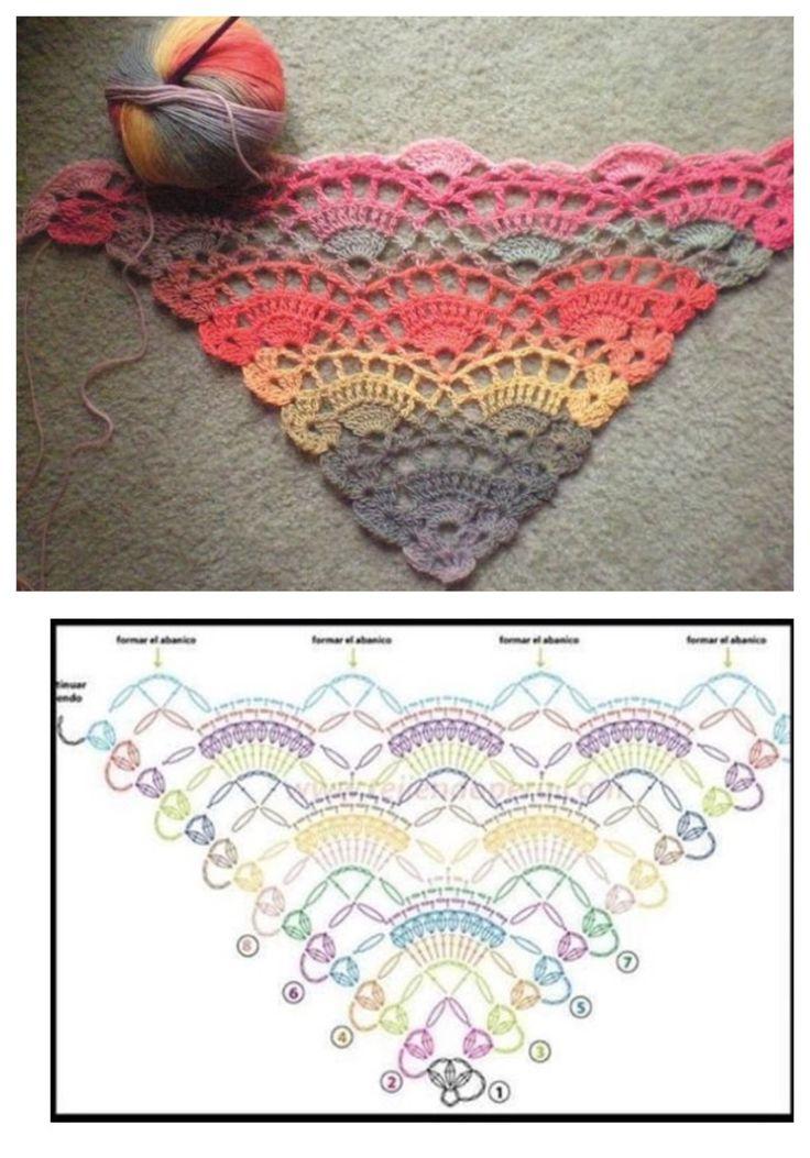 63 best Saco en crochet images on Pinterest   Crochet sachet ...