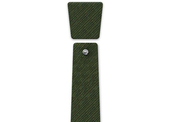 Eclepti Dangle_Corduroy_100% cotton  #modular #accessory #neckwear #madeinitaly #noknots #tie #cravatta #man #style #double #side #eclectic #eclepti #corduroy