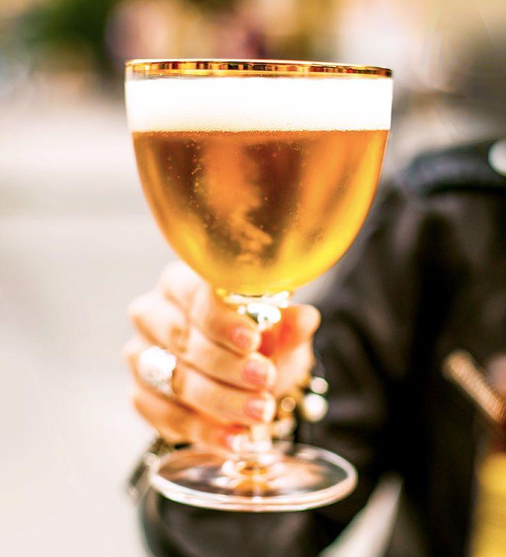 Glass Of Belgian Triple