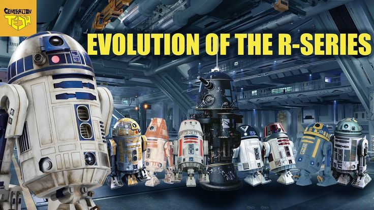 R2D2's Extended Family | EVERY R-SERIES ASTROMECH DROID