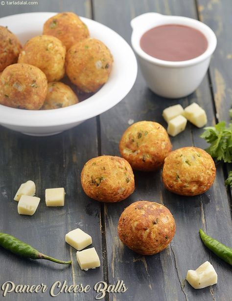 Paneer Cheese Balls, Indian Veg Starter #indiansnacks