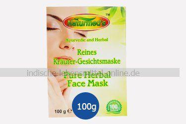 kraeuter-gesichtsmaske-indisches-ayurvedisches-produkt-herbal-face-mask-amritha-naturmeds-100g
