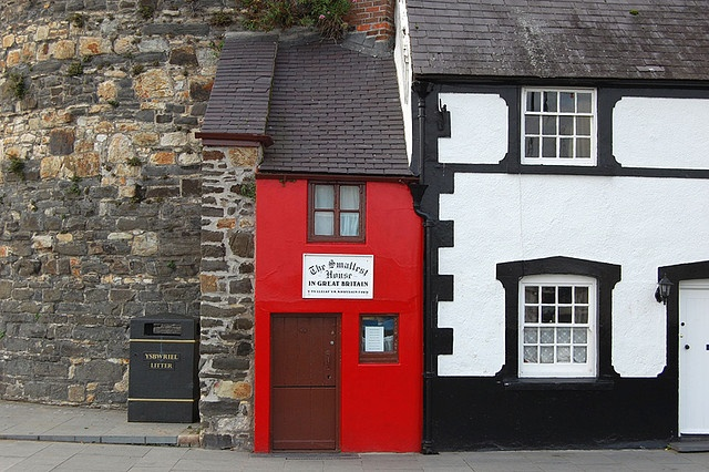 the smallest house in the UK - Conwy (north wales)