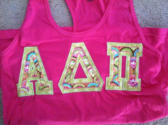 Lilly Pulitzer Sorority Shirt Short Sleeve by ThePinkPineappleShop, $34.99