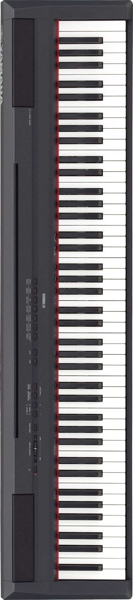 The P-115, Yamaha's follow-up to the industry's best-selling digital piano, now has its own app for iOS. An elegant touch screen controller that makes getting to the features of the P-115 simple. Pian