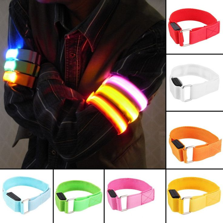 LED Arm bands for Cycling/Running/Skiing and Skating