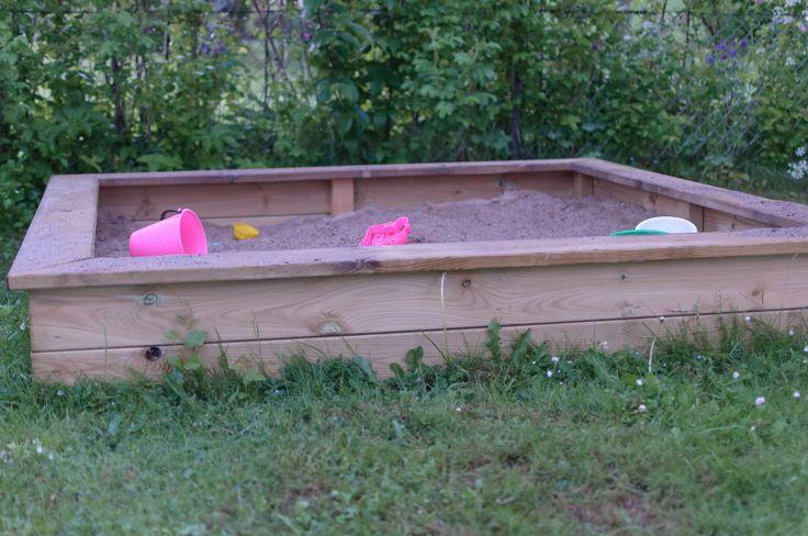 Har sett att många har sökt på hur man bygger en sandlåda så jag tänkte beskriva hur du enkelt bygger en på ca 2 h. Det du behöver är: En bra såg, gärna en kap & geringssåg. Skruv för utomhusbr...