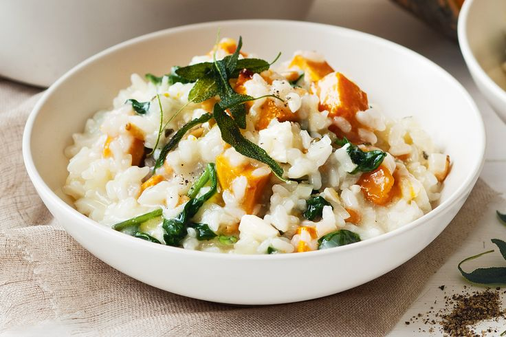 A handful of toasted pine nuts adds texture to this super-healthy risotto.