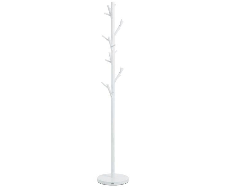 Verschönern Sie Ihren Flur mit dem Kleiderständer Tree in Weiß. Entdecken Sie weitere tolle Garderoben von JAN KURTZ auf >> WestwingNow.