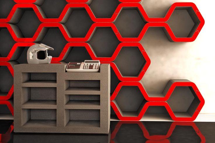 #Pregia #design #pack #indoor #interior #arredo #arredamento #esposizione #stand #interni #madeinitaly #shop #espositore #visualmerchandising #red