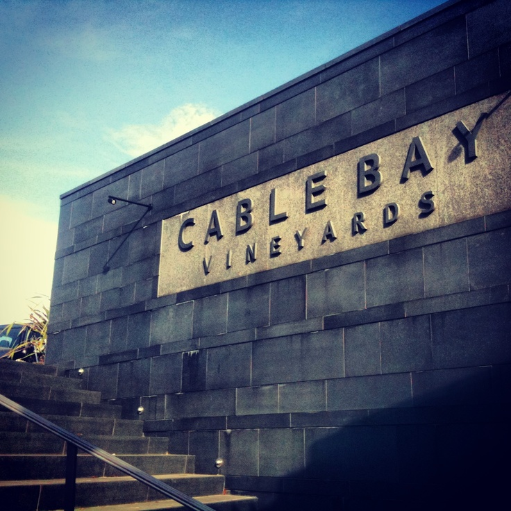 Cable Bay Vineyards, Waiheke Island, Auckland, New Zealand.