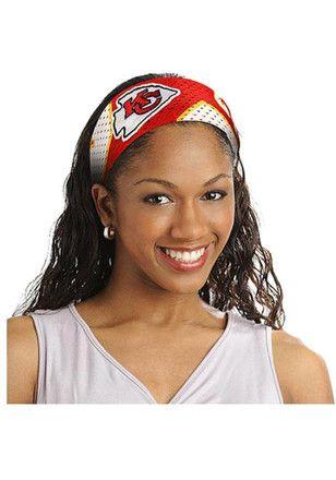 Kansas City Chiefs Fanband Womens Headband