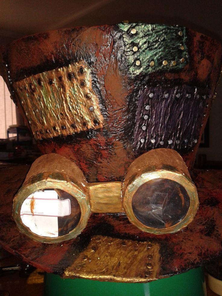 how to make cardboard steampunk goggles