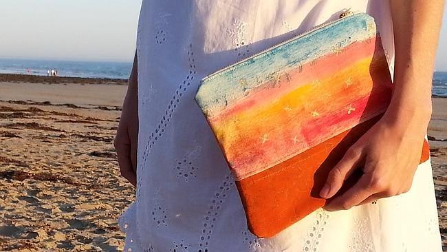 Beach + Clutch