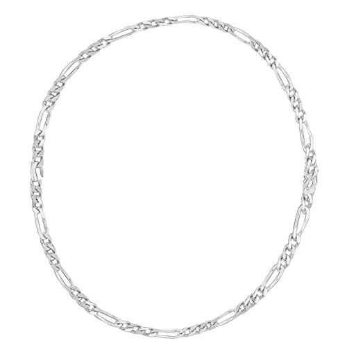 14k White Gold Figaro Chain Ankle Anklet 10 Inches *** Click image to review more details.(This is an Amazon affiliate link and I receive a commission for the sales)