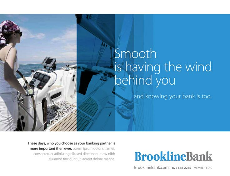 Shark Communications - Brookline Bank marketing, branding and web design.