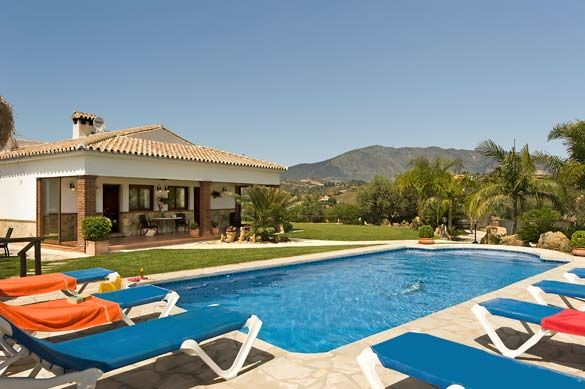 Villa Algazara, Near Mijas Costa, Costa del Sol, Spain. Find more at www.villaplus.com