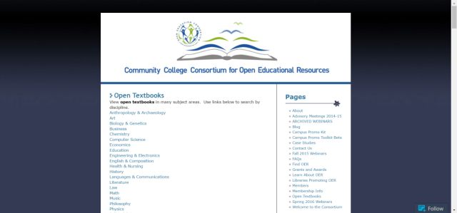 19 Ways to Find Free Textbooks Online: Community College Consortium for Open…