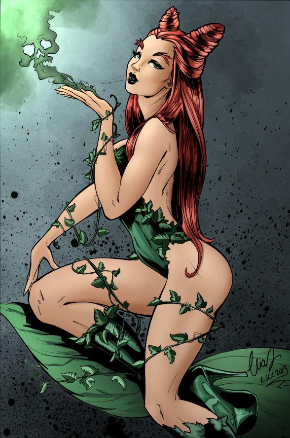 Poison Ivy - Chatzoudis by Zoloor.deviantart.com on @deviantART