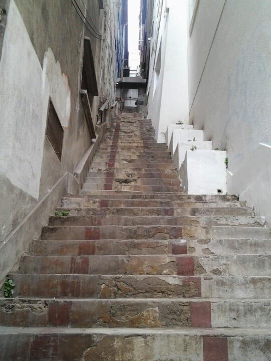 Escalera en Urriola #valpo