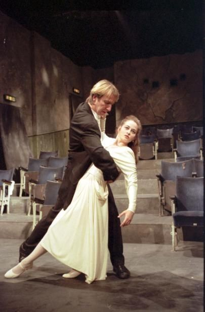 """Alan Rickman """"Tango at the End of Winter"""" with Beatie Edney 1991"""