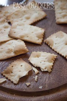 Crackers senza lievito - ricetta veloce | I Pasticci della Zia Tata