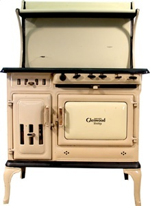 All Antique Stoves for Heating for sale : Glenwood Insulated Gas/Wood Dual Fuel Antique Cook Stove