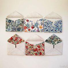 Little Fabric Envelope PDF Pattern - Lovelui
