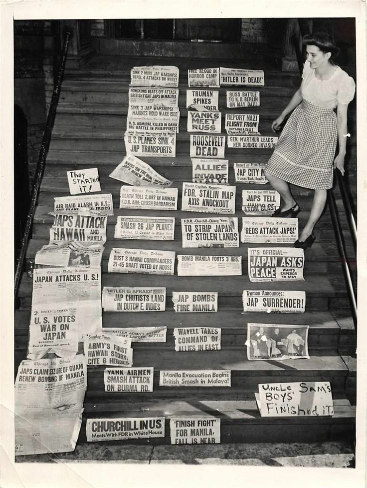 113 best images about WWII Newspaper Headlines on Pinterest ...