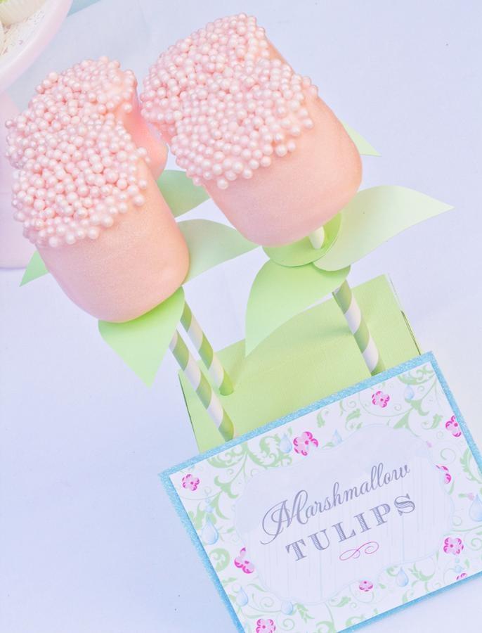 marshmellow tulips