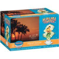 Kauai Coffee Island Sunrise K-Cups (Case of 6) ** Review more details here : K Cups