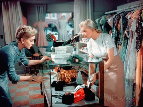 Peyton Place, Lana Turner, Hope Lange, 1957 Photo