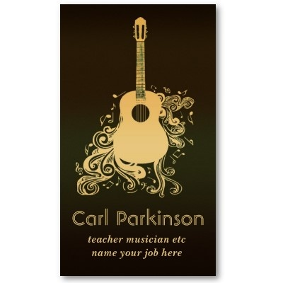 13 best images about my business card on pinterest for Creative music business cards