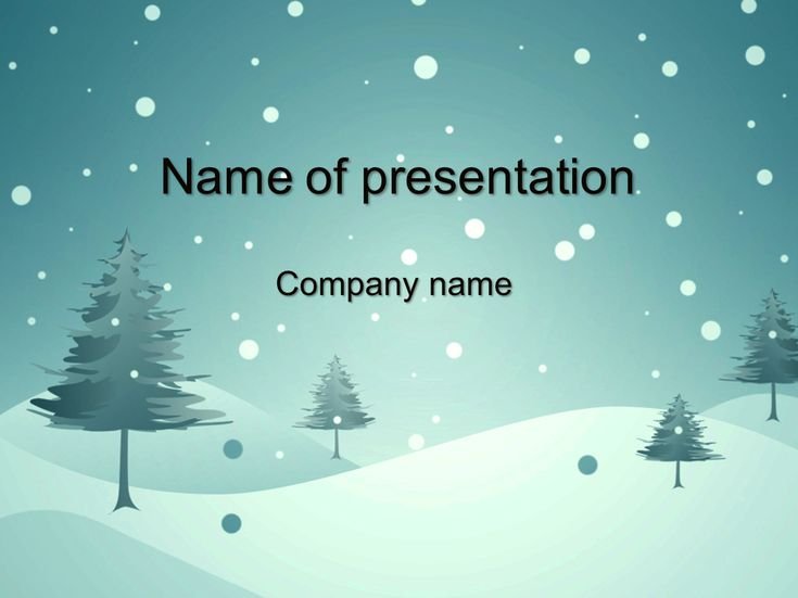 21 best projects to try images on pinterest microsoft powerpoint blue winter powerpoint template toneelgroepblik Gallery