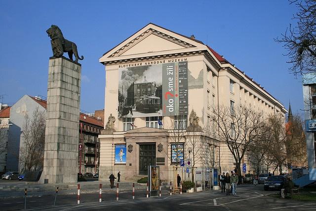 Slovakia, Bratislava - The Slovak National Museum
